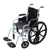 "Drive Medical Poly-Fly Lightweight 18"" Wheelchair/Flyweight Tran"