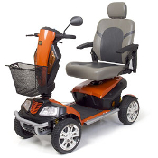 Patriot GR575 Mobility Scooter Heavy Duty 4-Wheel Golden Tech