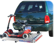 Scooter & Power Chair Carrier Vehicle Platform Ramp