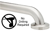 "Grab Bars 1-1/2"" NO DRILL Shower/Bathroom ADA Compliant GrabBars"