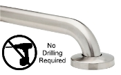 "Grab Bars 1-1/4"" NO DRILL Shower/Bathroom ADA Compliant GrabBars"
