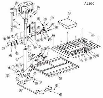 1409329507664 98241 harmar al 100 vehicle hitch universal scooter lift harmar al600 wiring diagram at n-0.co