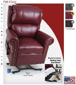 Lift Chair Recliner Golden Techologies Maxicomfort Pub Chair