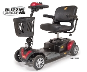 New Golden BuzzAround XL 3-Wheel Mobility Travel Scooter GB147
